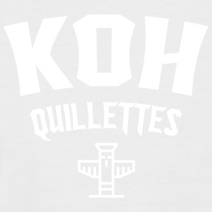Koh Quillettes - T-shirt baseball manches courtes Homme