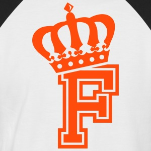 Letter F - Men's Baseball T-Shirt