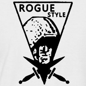 Rogue Vintage Style - T-shirt baseball manches courtes Homme