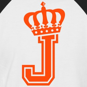 Letter J - Men's Baseball T-Shirt