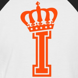 Letter I - Men's Baseball T-Shirt