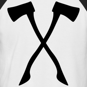 Ax - male and useful at the same time! - Men's Baseball T-Shirt
