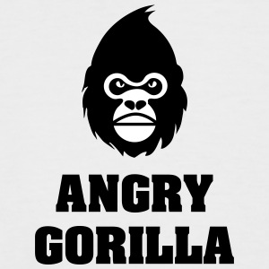 angry_gorilla - T-shirt baseball manches courtes Homme