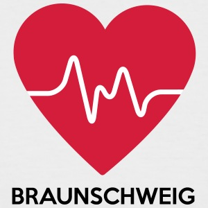 heart Braunschweig - Men's Baseball T-Shirt