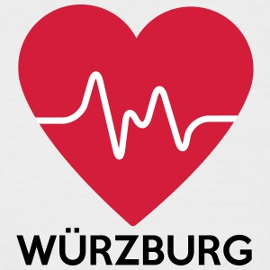 heart Würzburg - Men's Baseball T-Shirt