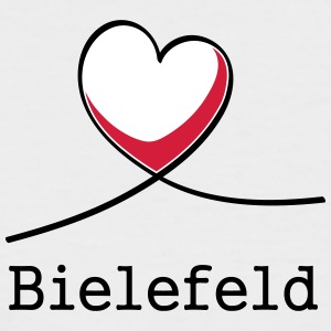 I love Bielefeld! - Men's Baseball T-Shirt