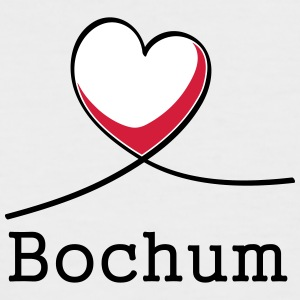I love Bochum! - Men's Baseball T-Shirt