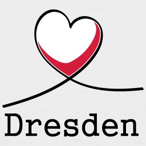 I love Dresden! - Men's Baseball T-Shirt
