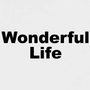 WonderfulLife - Men's Baseball T-Shirt