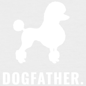 Poodle - Dogfather - Men's Baseball T-Shirt