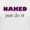 Naked Collection - Kortermet baseball skjorte for menn