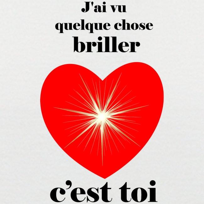 Coeur brillant ...amoureux ou inspiré FC