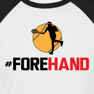 #Forehand Tennis - T-shirt baseball manches courtes Homme