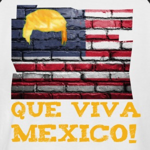 Que viva mexico! - Men's Baseball T-Shirt