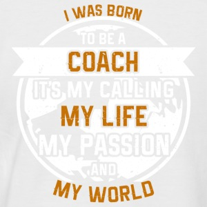 Trainer from passion - Men's Baseball T-Shirt