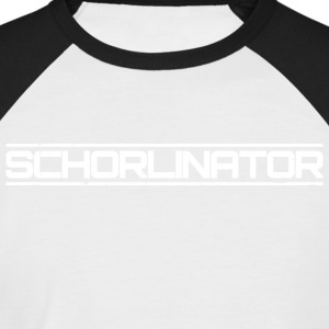 Schorlinator - Männer Baseball-T-Shirt