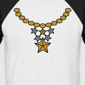 Bling 001 - T-shirt baseball manches courtes Homme