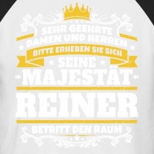 His Majesty Reiner - Men's Baseball T-Shirt