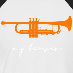 my heaven - Men's Baseball T-Shirt
