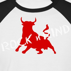 ROCK N RIND 3 - Men's Baseball T-Shirt