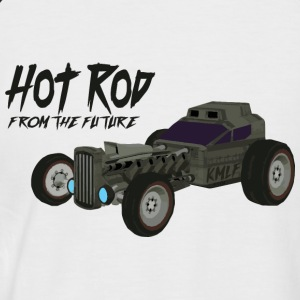 Hot Rod from the future v1 Kmlf style - T-shirt baseball manches courtes Homme