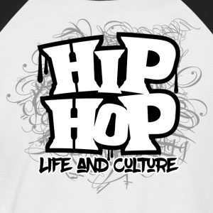 HipHop Life and Culture - Men's Baseball T-Shirt