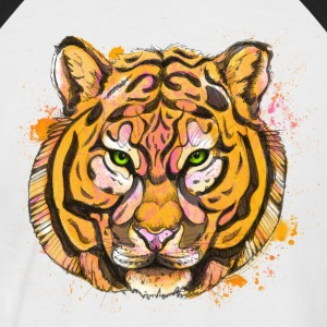 tigre - T-shirt baseball manches courtes Homme
