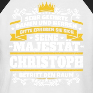 His Majesty Christoph - Men's Baseball T-Shirt