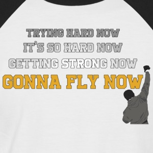 Gonna Fly Now - Rocky - Maglia da baseball a manica corta da uomo