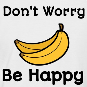 dont worry be happy - Kortermet baseball skjorte for menn