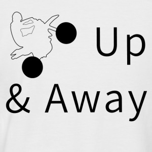Up & Away - Men's Baseball T-Shirt