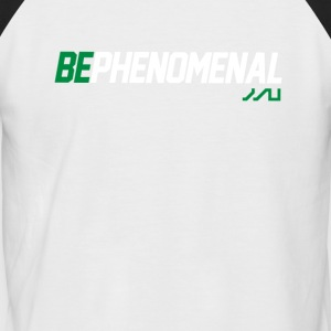BePhenomenal T-shirt de fitness de motivation - T-shirt baseball manches courtes Homme