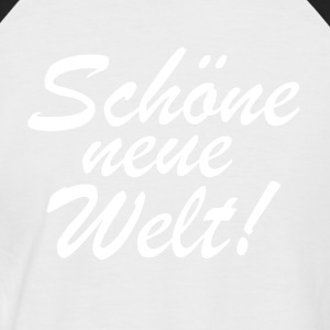 nwowhite - T-shirt baseball manches courtes Homme