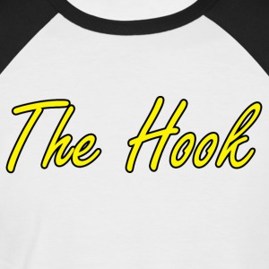 The Hook Logo - Men's Baseball T-Shirt