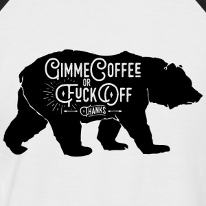 GimmeCoffee - Men's Baseball T-Shirt