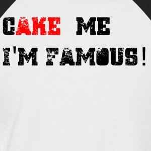 Cake_me_1 - T-shirt baseball manches courtes Homme