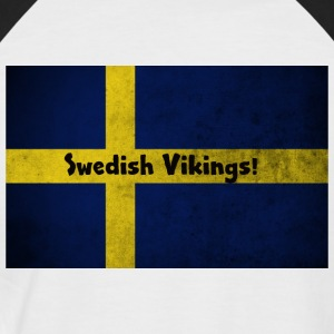 Swedish Vikings - Men's Baseball T-Shirt