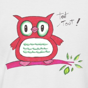 toot toot - Men's Baseball T-Shirt