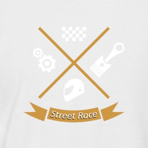 streetrace road race - Kortermet baseball skjorte for menn