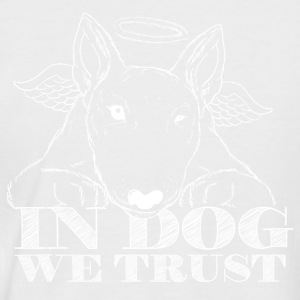 I Dog We Trust - Kortermet baseball skjorte for menn