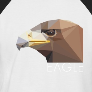 Eagle head proud Waffentier fly bird big eag - Men's Baseball T-Shirt