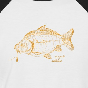 carp and release - Men's Baseball T-Shirt