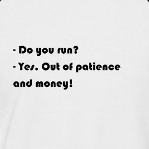 Do you run? - Men's Baseball T-Shirt