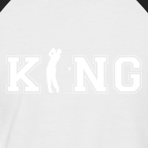 Golfers King - Men's Baseball T-Shirt
