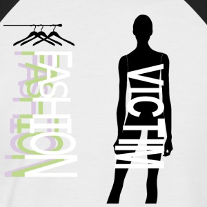Fashion Victim - Men's Baseball T-Shirt