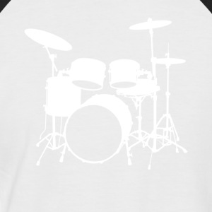 DRUMSET - T-shirt baseball manches courtes Homme
