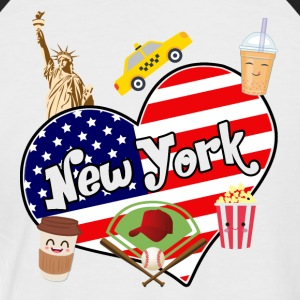 I love New York 2 - T-shirt baseball manches courtes Homme