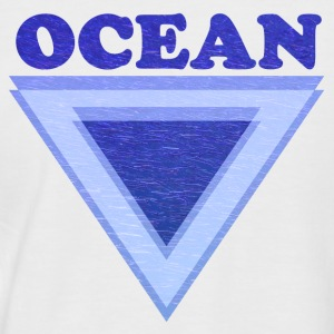 Ocean - Men's Baseball T-Shirt
