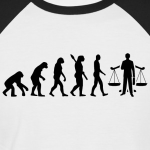 evolution ANWALT JURA Black - Männer Baseball-T-Shirt