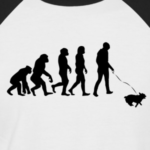 ++ ++ Hundeeiere Evolution - Kortermet baseball skjorte for menn
